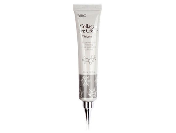 Отбеливающий крем для кожи вокруг глаз с коллагеном 3W Clinic Collagen Eye Cream Whitening, 40мл - Фото №1