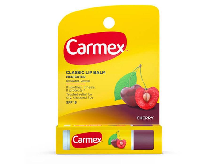 Бальзам для губ Вишня Carmex Cherry Stick SPF 15, 4,25г - Фото №2