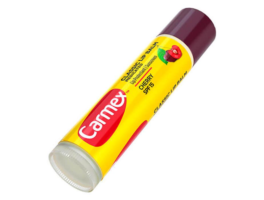 Бальзам для губ Вишня Carmex Cherry Stick SPF 15, 4,25г - Фото №3