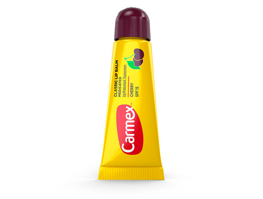 Бальзам для губ Вишня Carmex Cherry Tube SPF 15, 10г - Фото №1