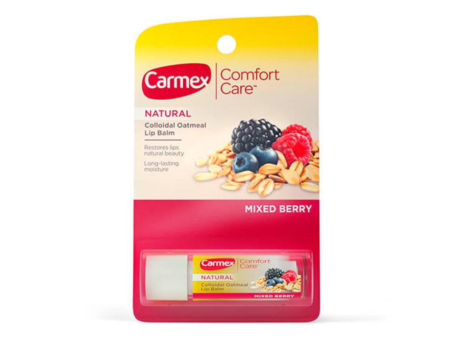 Бальзам для губ Ягодный микс Carmex Mixed Berry Stick, 4,25г - Фото №2