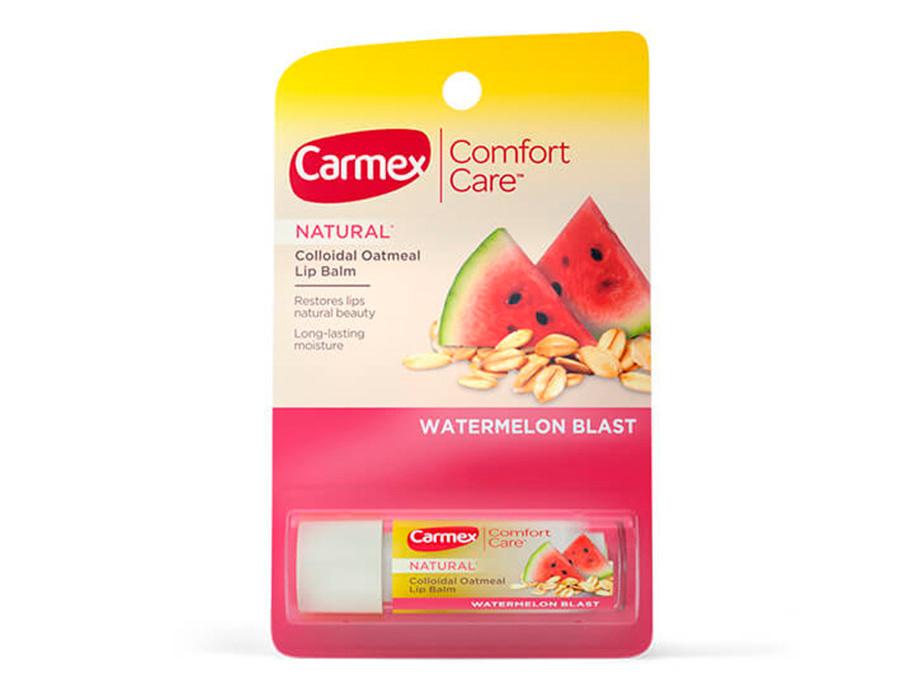Бальзам для губ Сочный арбуз Carmex Watermelon Blast Stick, 4,25г - Фото №2