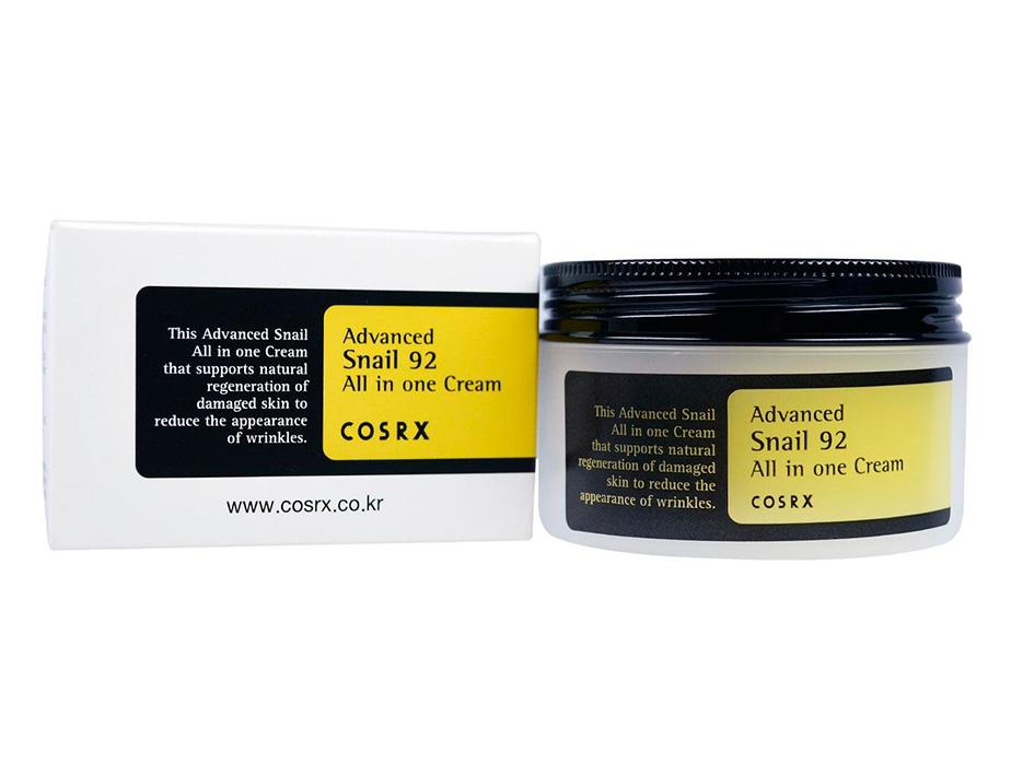 Универсальный крем для лица с экстрактом улитки Cosrx Advanced Snail 92 All In One Cream, 100мл - Фото №3