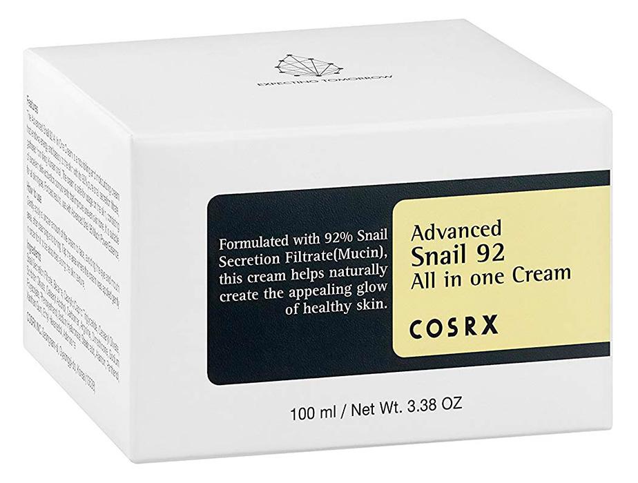 Универсальный крем для лица с экстрактом улитки Cosrx Advanced Snail 92 All In One Cream, 100мл - Фото №4