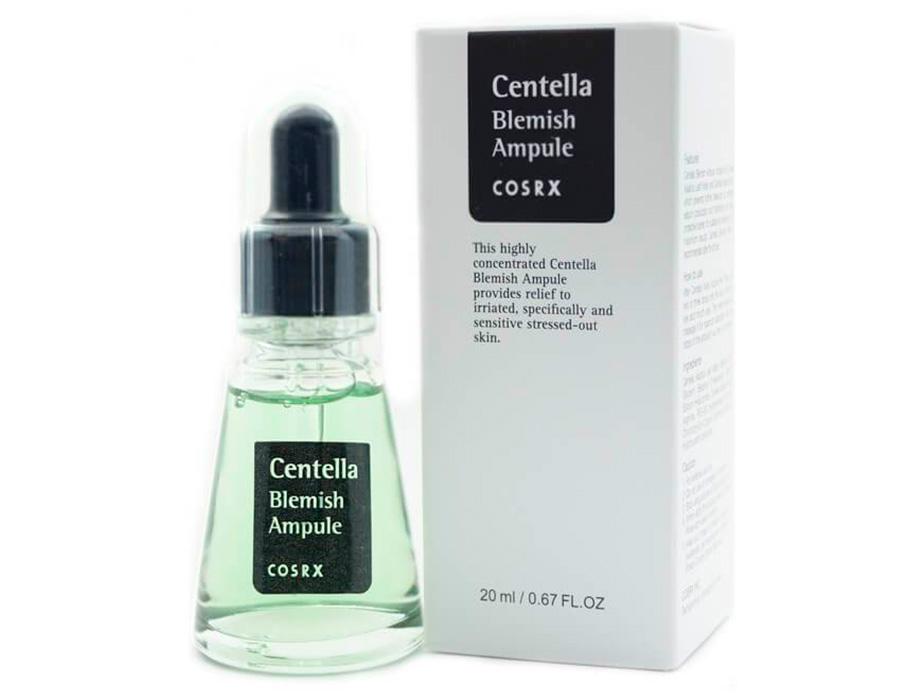 Ампульная эссенция для лица с экстрактом центеллы азиатской Cosrx Centella Blemish Ampule, 20мл - Фото №3
