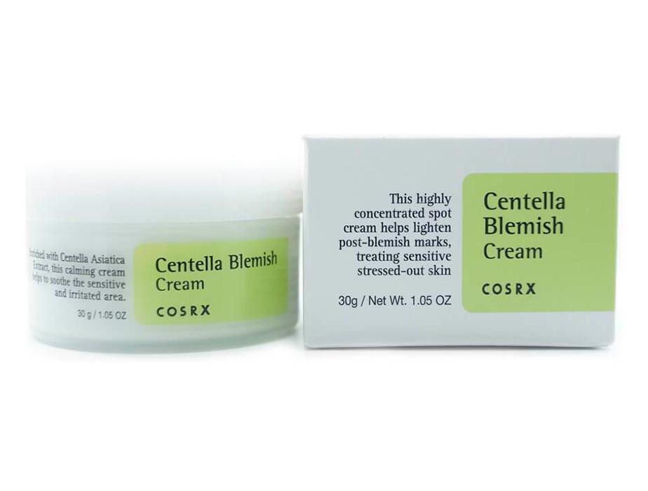 Крем для проблемной кожи лица с экстрактом центеллы азиатской Cosrx Centella Blemish Cream, 30мл - Фото №2
