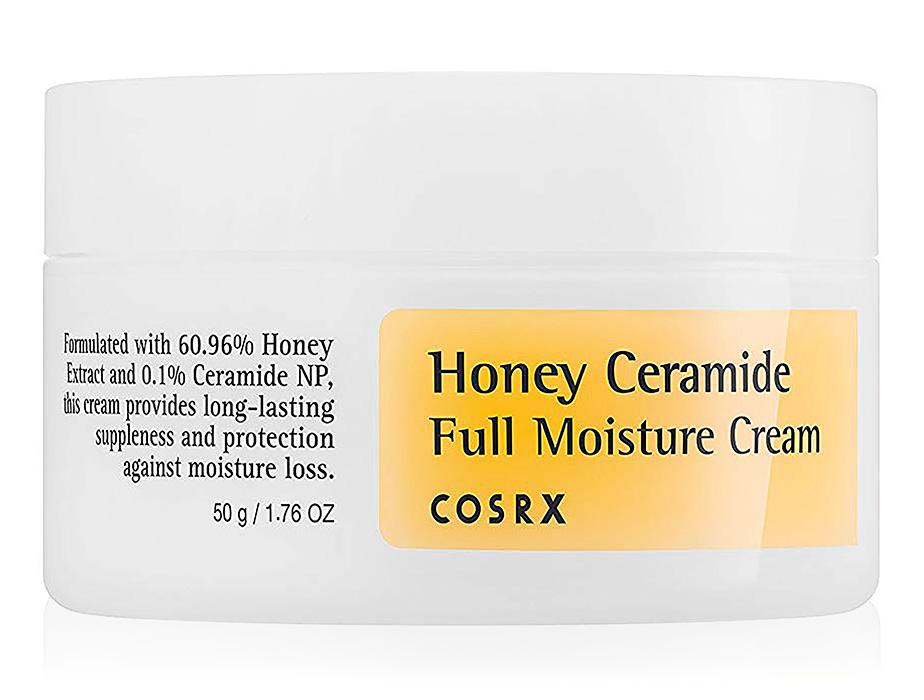 Интенсивно увлажняющий крем для лица с медом и керамидами Cosrx Honey Ceramide Full Moisture Cream, 50г - Фото №1