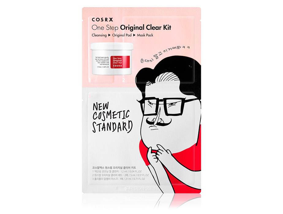 Лечебный набор для очищения кожи Cosrx One Step Original Clear Kit