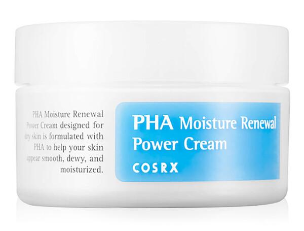 Восстанавливающий крем для увлаженения лица с PHA кислотами Cosrx PHA Moisture Renewal Power Cream, 50мл - Фото №1