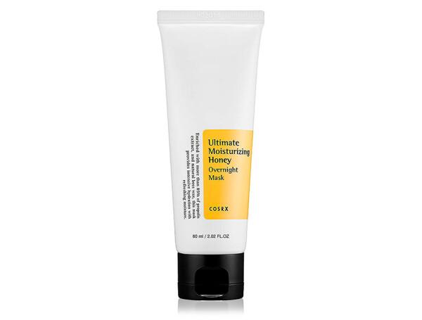 Медовая ночная маска для лица Cosrx Ultimate Moisturizing Honey Overnight Mask, 60мл - Фото №1