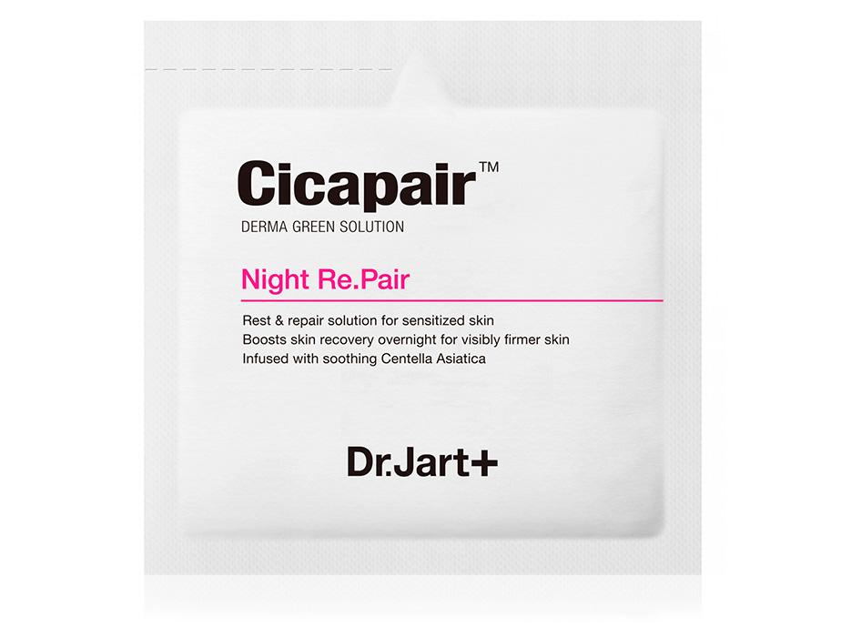 Восстанавливающая ночная крем-маска антистресс для лица Dr. Jart+ Cicapair Night Re.Pair, 3мл