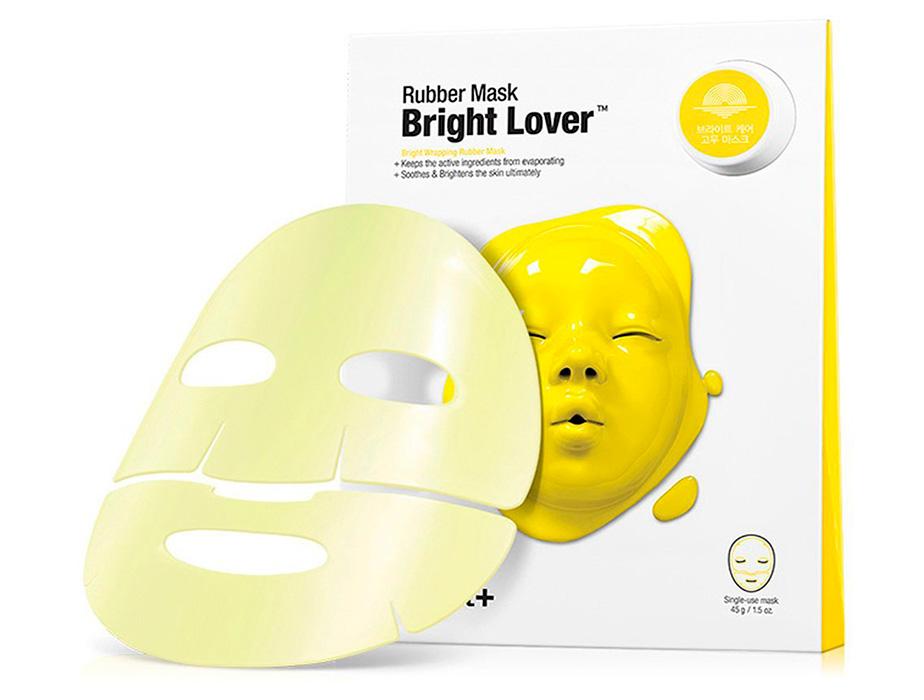 Придающая сияние альгинатная маска для лица Dr. Jart+ Dermask Rubber Mask Bright Lover, 45мл - Фото №2