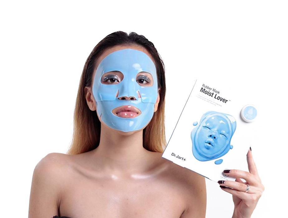 Увлажняющая альгинатная маска для лица Dr. Jart+ Dermask Rubber Mask Moist Lover, 45мл - Фото №3