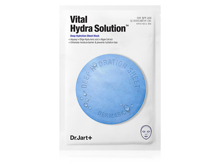Увлажняющая маска для лица Dr. Jart+ Dermask Water Jet Vital Hydra Solution