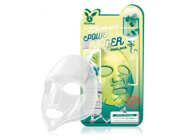 Маска для лица с экстрактом центеллы Elizavecca Centella Asiatica Deep Power Ringer Mask - Фото №1