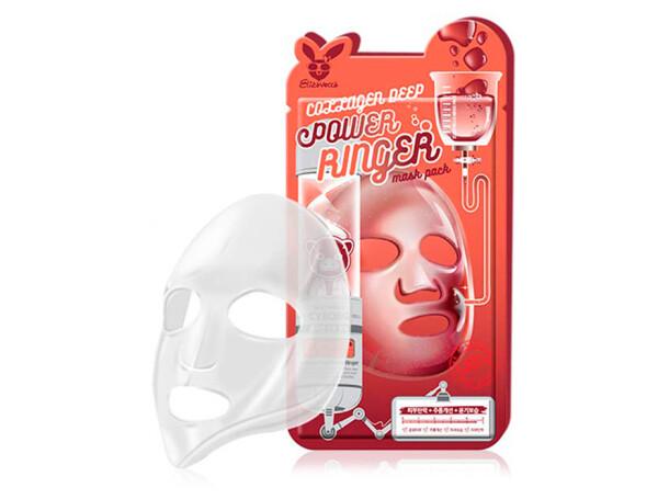Коллагеновая маска для лица Elizavecca Collagen Deep Power Ringer Mask - Фото №1
