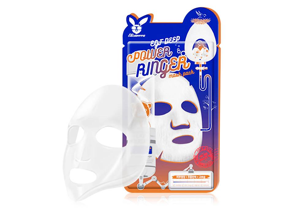 Маска для активной регенерации эпидермиса Elizavecca EGF Deep Power Ringer Mask