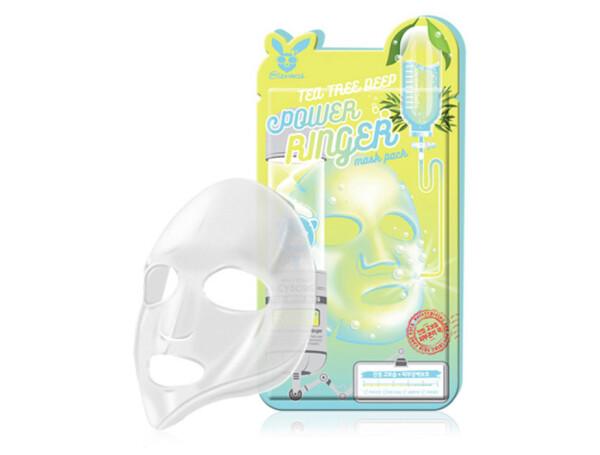 Маска для проблемной кожи лица Elizavecca Tea Tree Deep Power Ringer Mask - Фото №1
