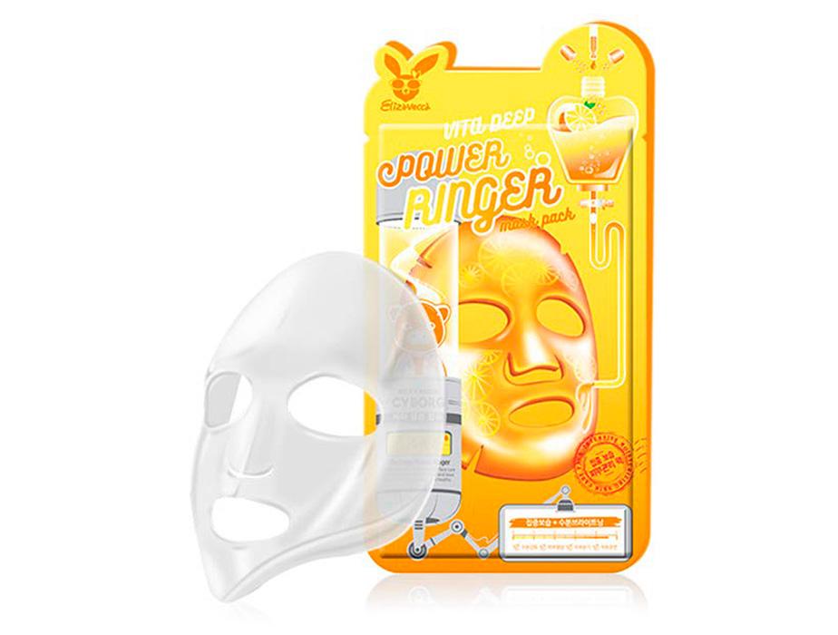 Питательная маска для лица мгновенного действия Elizavecca Vita Deep Power Ringer Mask