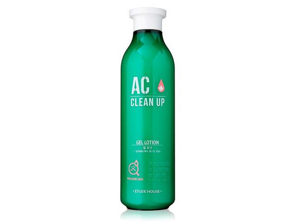Лечебный гель-лосьон для проблемной кожи лица Etude House AC Clean Up Gel Lotion, 200мл - Фото №1