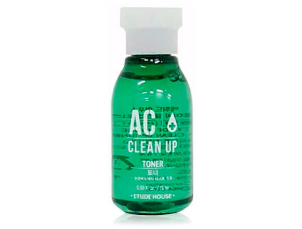 Тонер для проблемной кожи лица Etude House AC Clean Up Toner, 15мл - Фото №1