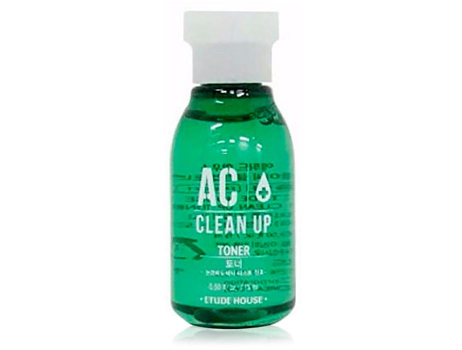 Тонер для проблемной кожи лица Etude House AC Clean Up Toner, 15мл