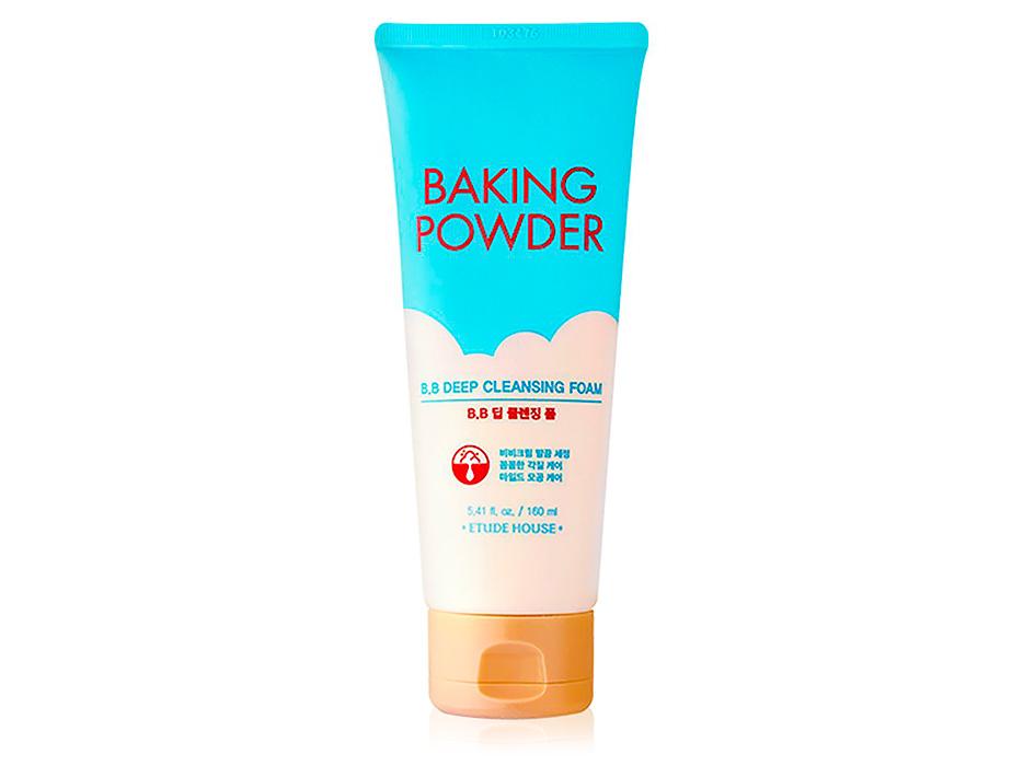 Пенка для глубокой очистки кожи лица Etude House Baking Powder B.B Deep Cleansing Foam, 160мл
