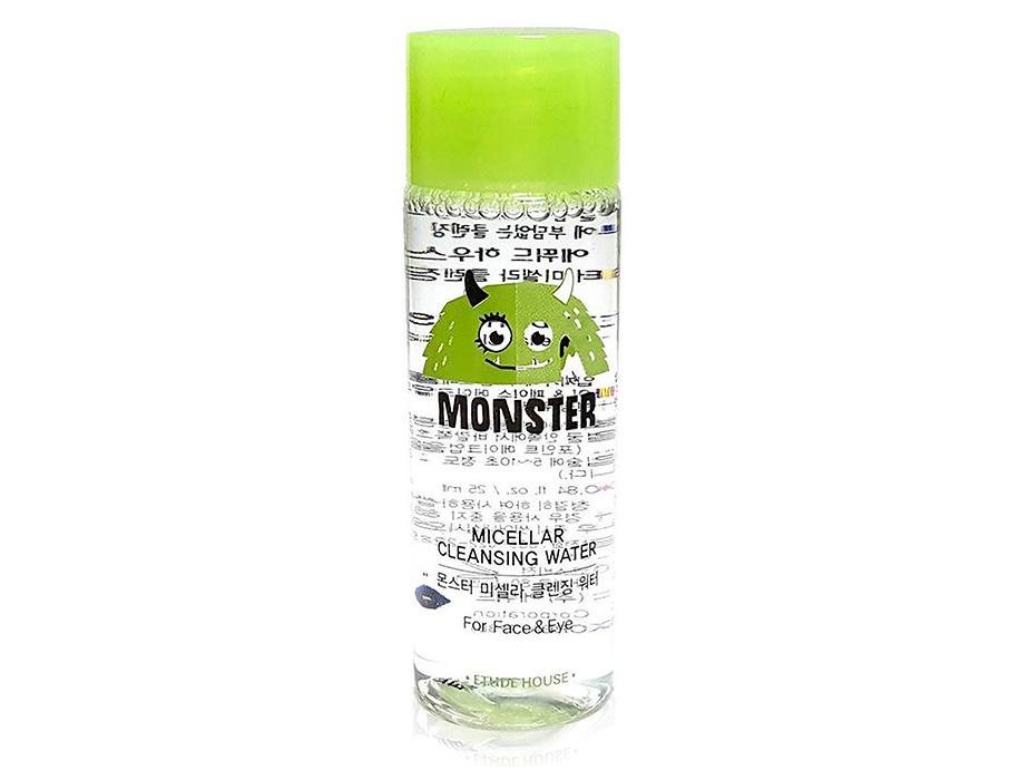 Мицеллярная вода Etude House Monster Micellar Cleansing Water, 25мл