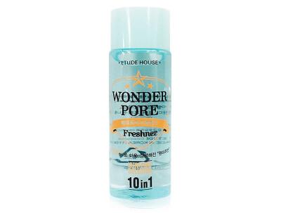 Универсальный тонер для сужения пор 10-в-1 Etude House Wonder Pore Freshner, 25мл - Фото №1