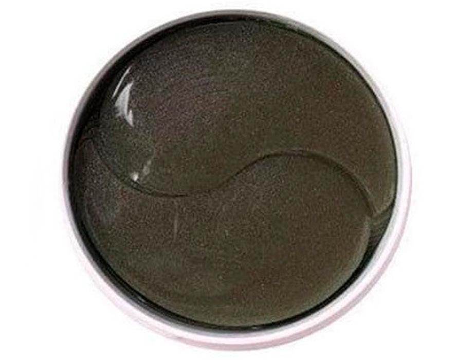 Гидрогелевые патчи под глаза с пудрой чёрного жемчуга Eyenlip Black Pearl Hydrogel Eye Patch, 60шт - Фото №2