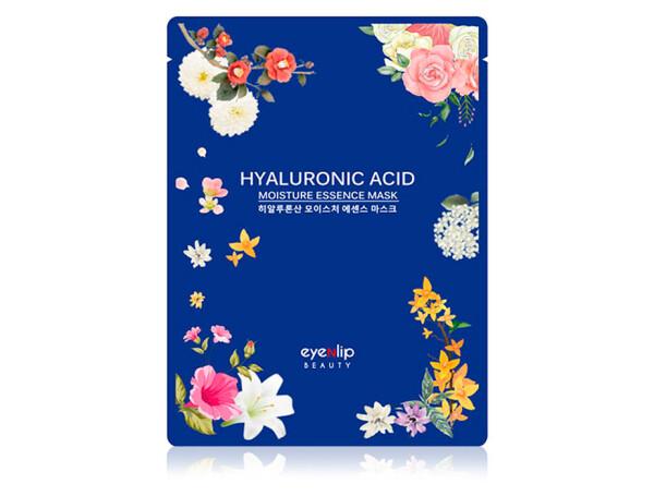 Увлажняющая маска для лица с гиалуроновой кислотой Eyenlip Hyaluronic Acid Moisture Essence Mask - Фото №1