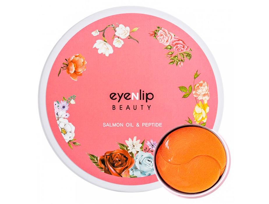 Гидрогелевые патчи под глаза с лососевым маслом и пептидами Eyenlip Salmon Oil & Peptide Hydrogel Eye Patch, 60шт - Фото №3