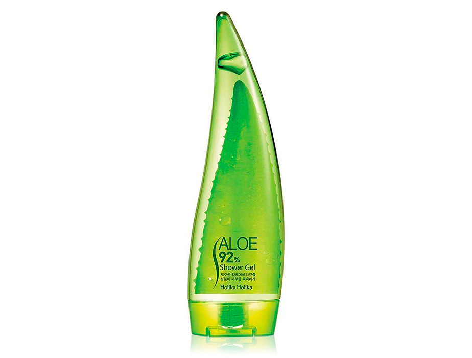 Гель для душа с алоэ Holika Holika Aloe 92% Shower Gel, 250мл