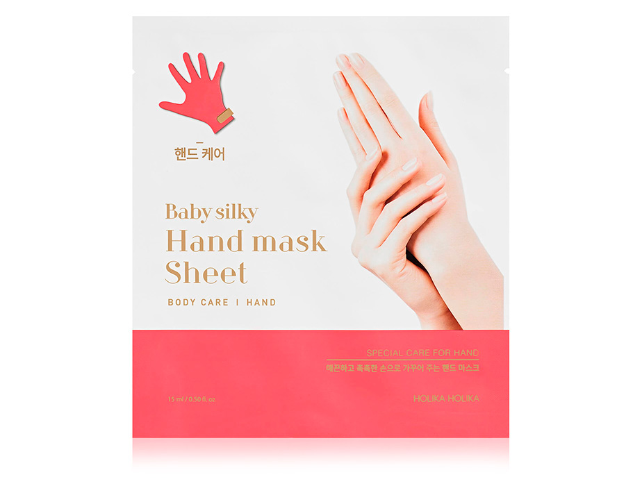 Питательная маска для рук Holika Holika Baby Silky Hand Mask