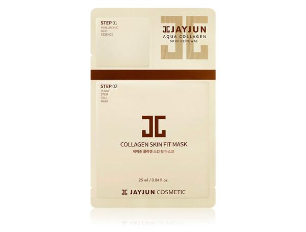 Анти-возрастная маска для лица Jayjun Collagen Skin Fit Mask - Фото №1