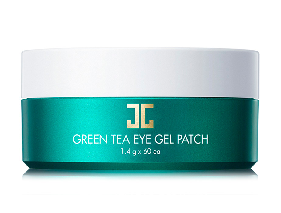 Гидрогелевые патчи под глаза с экстрактом зеленого чая Jayjun Green Tea Eye Gel Patch, 60шт - Фото №3