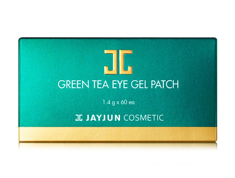 Гидрогелевые патчи под глаза с экстрактом зеленого чая Jayjun Green Tea Eye Gel Patch, 60шт - Фото №4