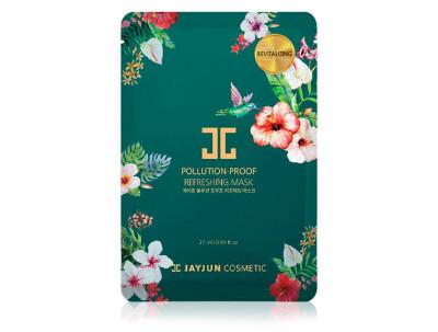 Освежающая маска для лица Jayjun Pollution-Proof Refreshing Mask - Фото №1