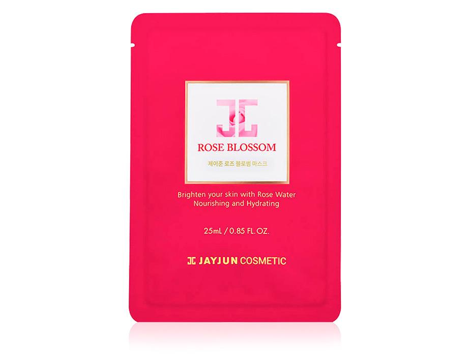 Маска для лица с розовым маслом Jayjun Rose Blossom Mask