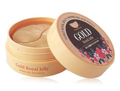 Гидрогелевые патчи под глаза с золотом и маточным молочком Koelf Gold & Royal Jelly Eye Patch, 60шт - Фото №1