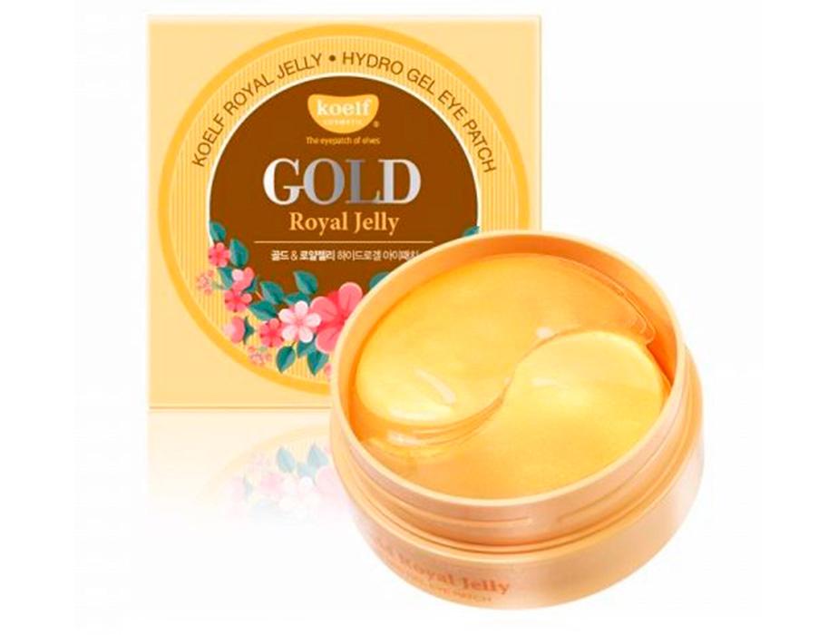 Гидрогелевые патчи под глаза с золотом и маточным молочком Koelf Gold & Royal Jelly Eye Patch, 60шт - Фото №3