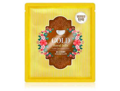 Гидрогелевая маска для лица с маточным молочком и золотом Koelf Hydrogel Mask Pack Gold & Royal Jelly - Фото №1