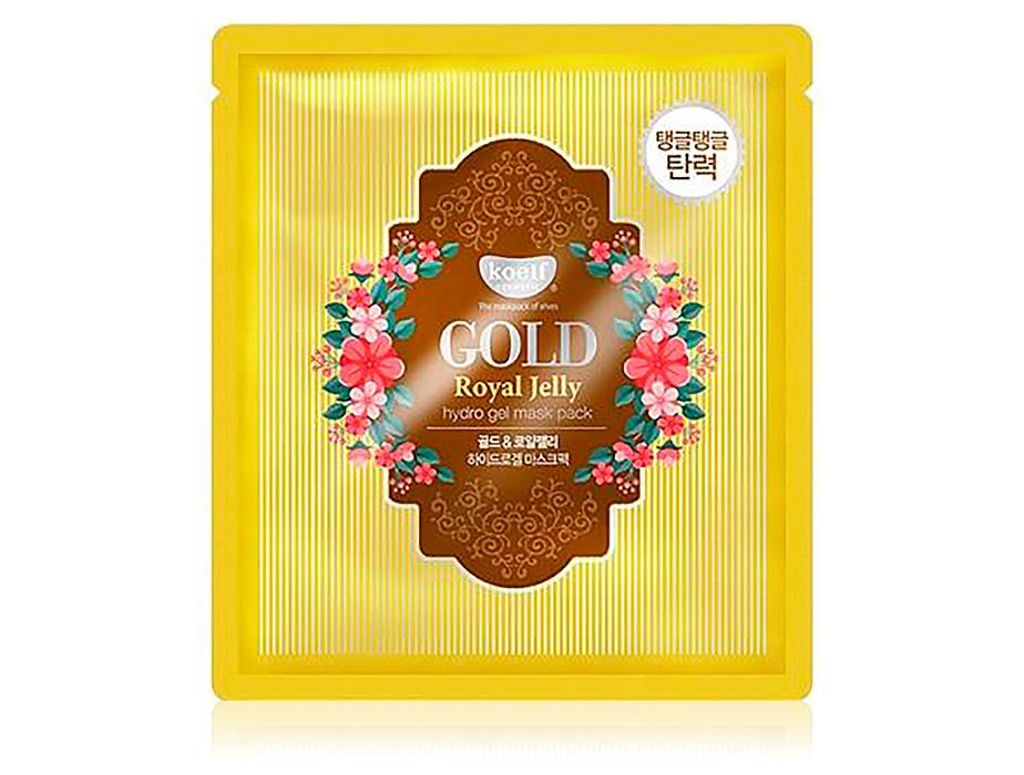 Гидрогелевая маска для лица с маточным молочком и золотом Koelf Hydrogel Mask Pack Gold & Royal Jelly