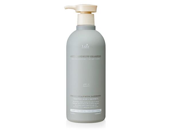Органический шампунь для волос от перхоти Lador Anti Dandruff Shampoo, 530мл - Фото №1