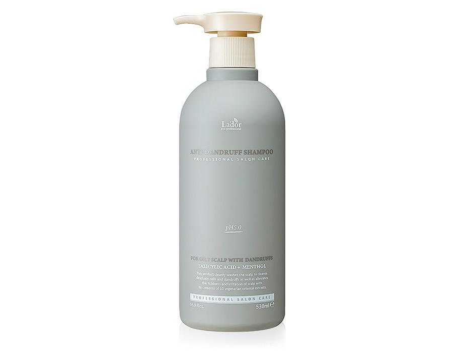 Органический шампунь для волос от перхоти Lador Anti Dandruff Shampoo, 530мл