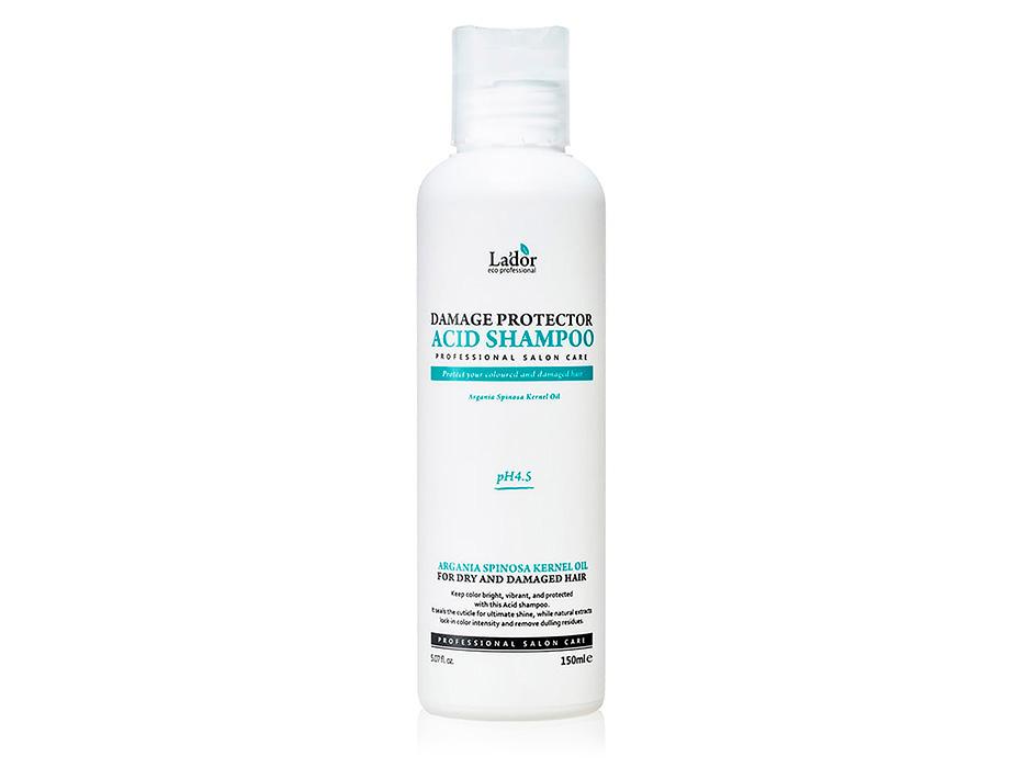 Бесщелочной шампунь для волос Lador Damage Protector Acid Shampoo, 150мл
