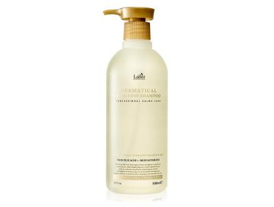 Безсульфатный шампунь против выпадения волос Lador Dermatical Hair Loss Shampoo, 530мл - Фото №1