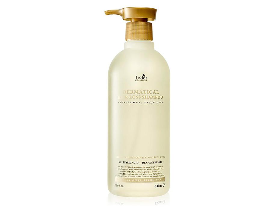 Безсульфатный шампунь против выпадения волос Lador Dermatical Hair Loss Shampoo, 530мл