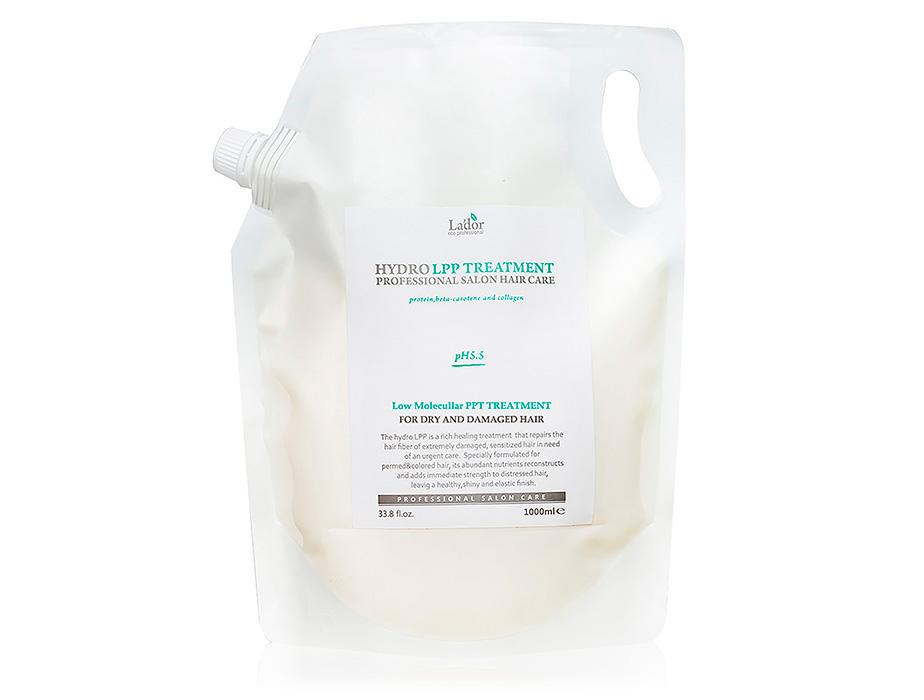 Экстра-восстанавливающая маска для поврежденных волос Lador Hydro LPP Treatment, 1000мл