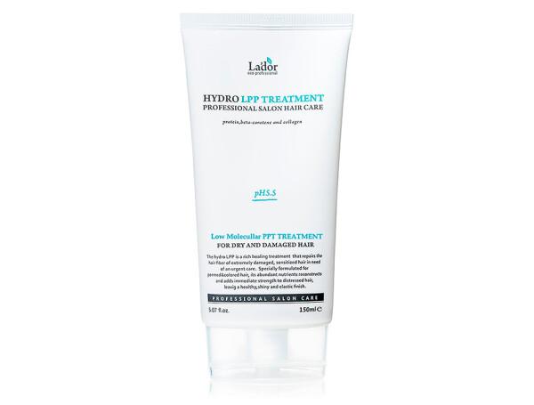 Экстра-восстанавливающая маска для поврежденных волос Lador Hydro LPP Treatment, 150мл - Фото №1